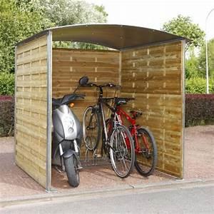Abri Moto Bois : abris a velos tous les fournisseurs abri pour deux roues abri moto et velo abri cycle ~ Melissatoandfro.com Idées de Décoration