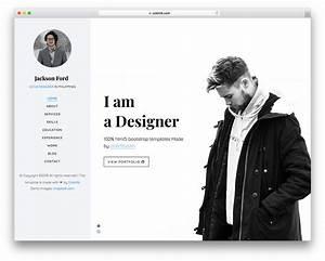 Jackson Free Personal Portfolio Website Template Colorlib