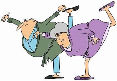 Senior Dancing Ballet Illustration Clip Seniors Fun
