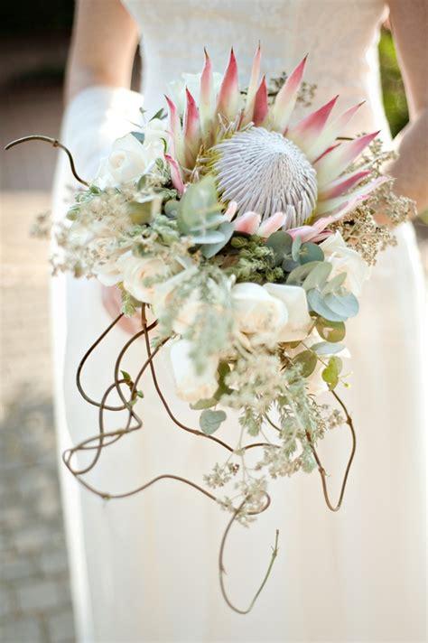 Lands006 Protea Brunch Wedding Cc Rossler Bouquet