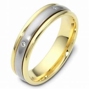 46935PE Platinum 18K Gold Spinning Wedding Band
