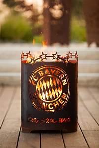 Feuerkorb Bayern München : fc bayern edelrost feuerkorb mia san mia rund der ~ Lizthompson.info Haus und Dekorationen