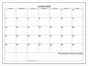 Calendário de junho de 2018 53DS Michel Zbinden pt