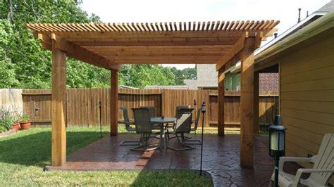 pergolas arbors  gazebos rustic patio houston