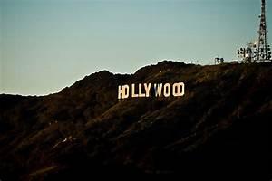 Hollywood Hills Sign At Night www pixshark com - Images