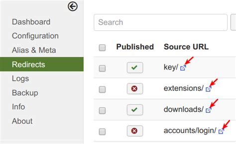 How To Hide The Sef Advance External Link Icon