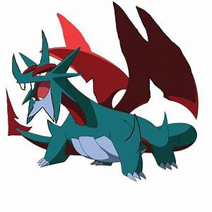 Pokemon Salamence Mega Evolution Images | Pokemon Images