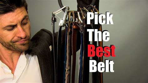 How To Pick The Best Belt For Your Outfit