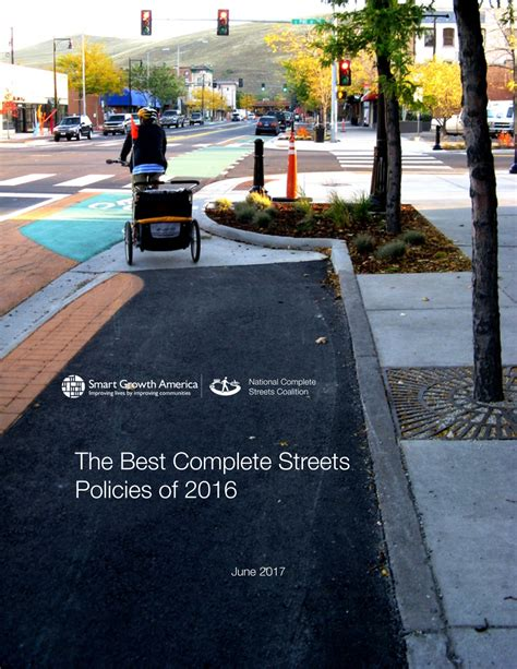 Announcing The Best Complete Streets Policies Of 2016