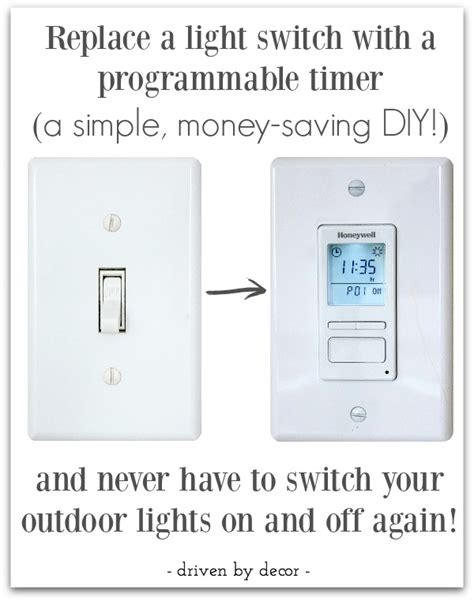 how to put outdoor lights on a timer how to set an outdoor light timer outdoor timers dimmers