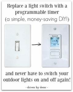 Make your outdoor lights turn on automatically at night
