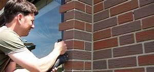Streichen Bei Niedrigen Temperaturen : diy fassade in klinker optik bauen renovieren news f r heimwerker ~ Whattoseeinmadrid.com Haus und Dekorationen