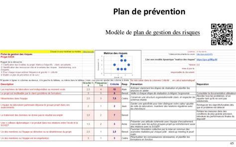 modèle plan de prévention gestion des risques d 233 marche