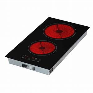 Plaque Vitro 2 Feux : nemaxx kf3001 plaque de cuisson electrique ceramique table ~ Dailycaller-alerts.com Idées de Décoration