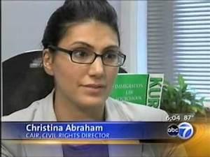 ABC7: Christina Abraham Discusses CAIR-Chicago's Lawsuit ...