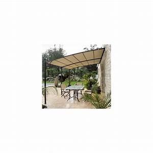 Toile Pour Jardin : toile pour tonnelle adoss e de jardin 3x4 en acier ~ Teatrodelosmanantiales.com Idées de Décoration