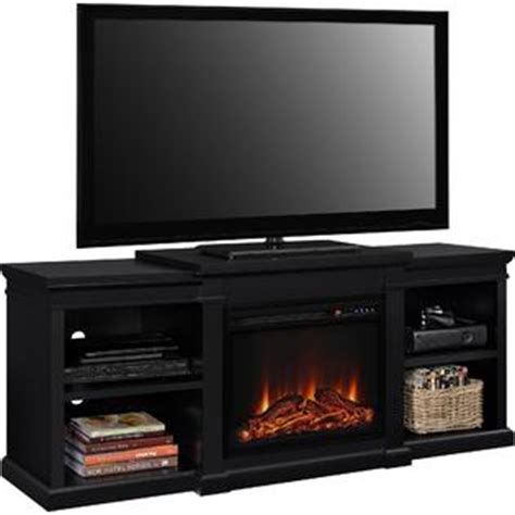 kmart fireplace tv stand dorel home furnishings manchester tv stand with fireplace