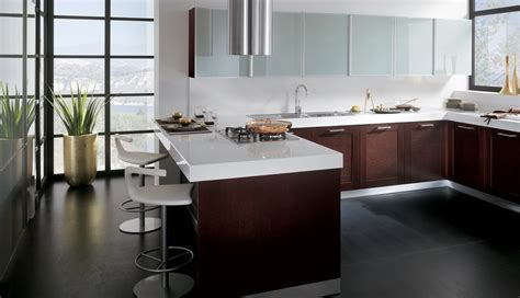 imagenes de cocinas modernas  coloridas scavolini