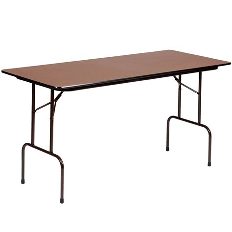 high top folding table correll cfs3072px 01 high pressure laminate top standing