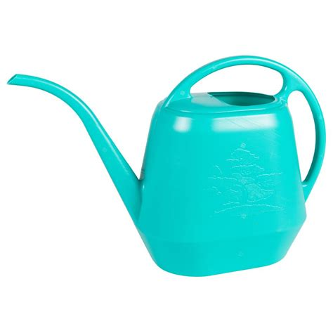 Color Kitchen Ideas - bloem watering can 56 oz calypso plastic aqua rite collection aw21 27 the home depot
