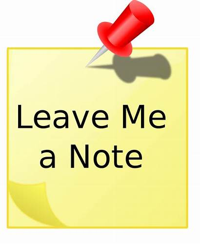 Clip Leave Note Clipart Wife 1st Dudes