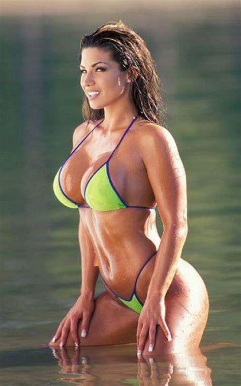fitness bikini hot brandy dahl female fitness models exercise pinterest