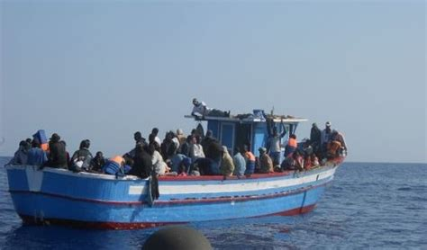 Immigrant Boat by Greece Rescues 400 Immigrants On Boat The National Herald