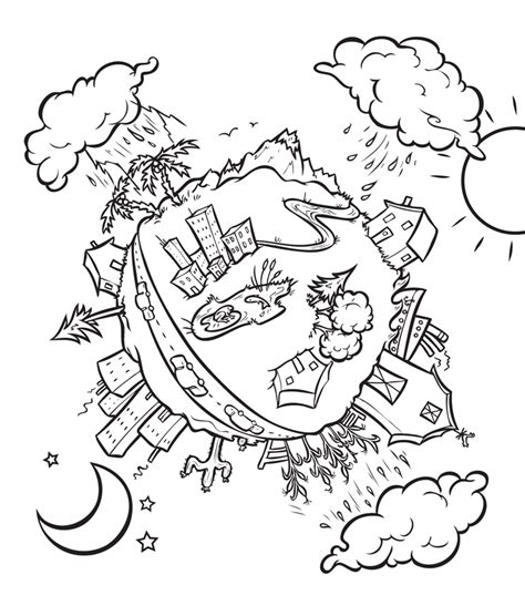 water conservation  kids coloring pages coloring home
