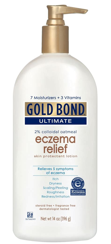 23441 Golden Standards Coupon by Gold Bond Eczema Relief 14 Oz