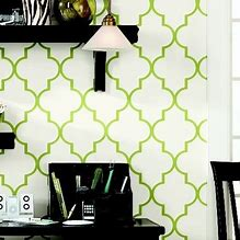 HD Wallpapers Green Trellis Wallpaper