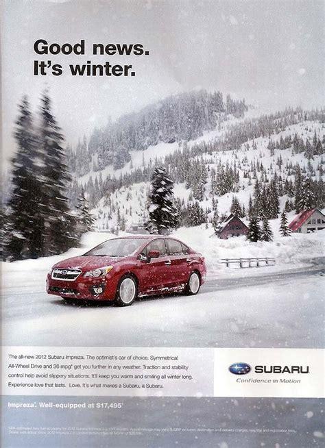 Subaru Car Ads by Subaru Advertising Photographs Page 4