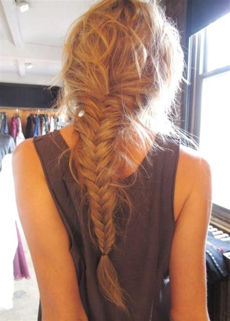 inspiradoras fishtail braids  trenzas cola de pescado