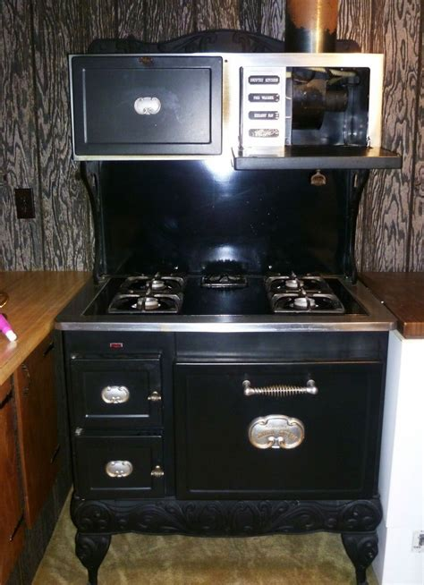Antique 1940s Kenmore Iron Country Kitchen Gas Stove
