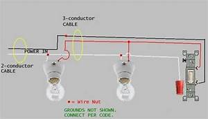 1 Switch To Two Light Fixture  What Is Wrong