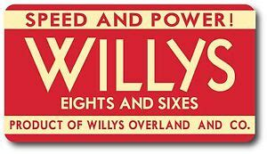 willys jeepster jeep more power sticker decal high quality outdoor durable ebay