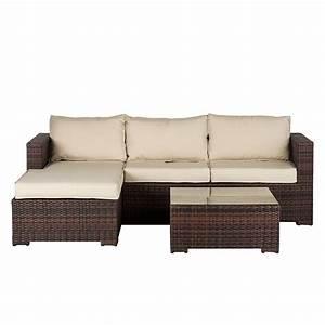 Polyrattan Lounge Sale : lounge set paradise lounge 3 teilig kaufen home24 ~ Whattoseeinmadrid.com Haus und Dekorationen