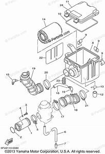 Yamaha Atv 2002 Oem Parts Diagram For Intake