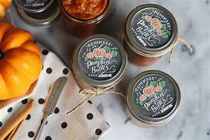 chalk art jam labels hand drawn by valerie mckeehan With canning label maker