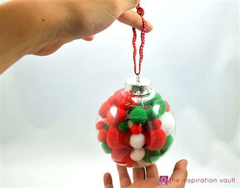 kids pom pom christmas ornament the inspiration vault