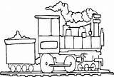 Train Steam Coloring Coal Netart sketch template