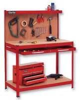 workbench  drawer  pegboard red clarke