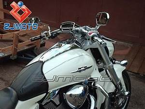 Motorcycle Chrome Tach Mount With Housing For Suzuki