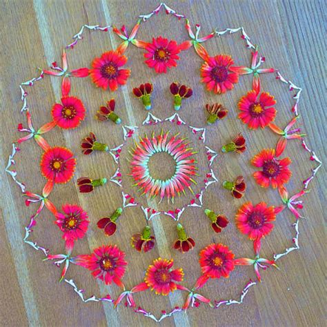 mandala klein flower mandalas by kathy klein booooooom create inspire community design