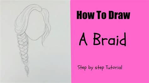 draw  braid  easy tutorial youtube