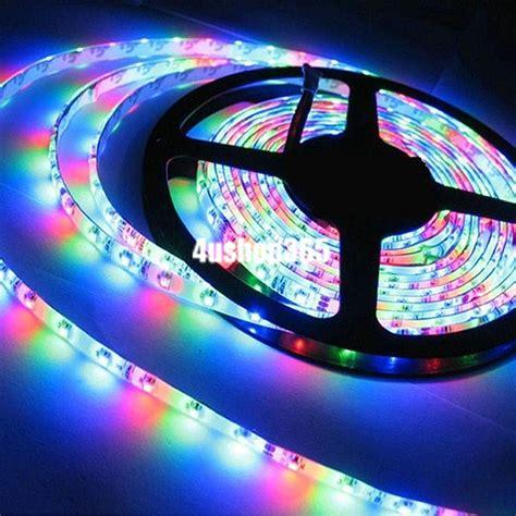 colored led light strips multi color 1m rgb 3528 smd waterproof 60 led light strip