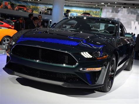 2019 Ford Mustang Bullitt Heads To Europe With A Little