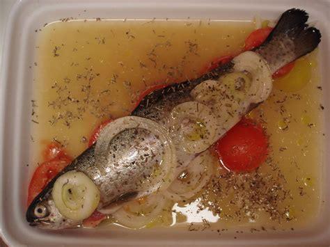 cuisiner une carpe truite au four recette de ma poissonière dans