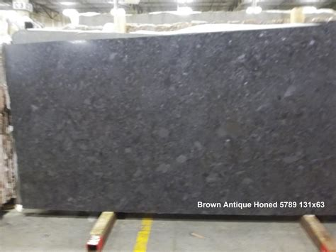 buy brown antique honed 3cm granite slabs countertops in