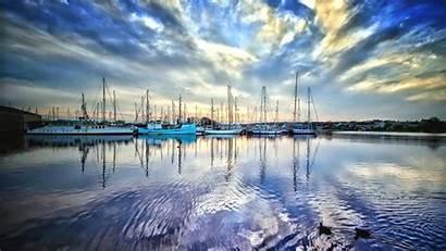 Harbor Marina Quiet Desktop Wallpapers Boats Definition