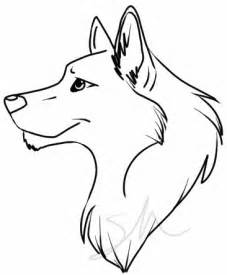 Cool Easy Drawings to Draw Wolf